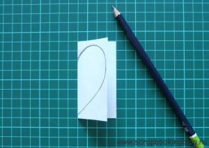 Как сделать шаблон в форме сердца - шаг 3