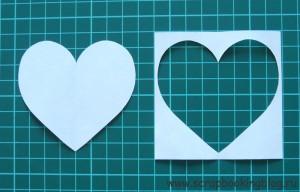 Как сделать шаблон в форме сердца - шаг 5