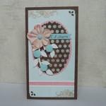Шоколадная открытка к 8 марта