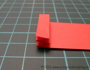 Цветок-розетка из бумаги - Шаг 2