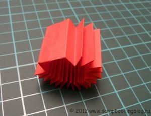 Цветок-розетка из бумаги - Шаг 4