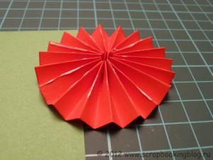Цветок-розетка из бумаги - Шаг 7