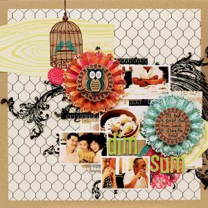 Пример розеток на странице альбома