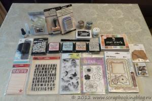 Посылка из магазина Simon Says Stamp - покупки