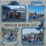 Скрап-альбом о путешествии - страница Вслед за Битлз 2007