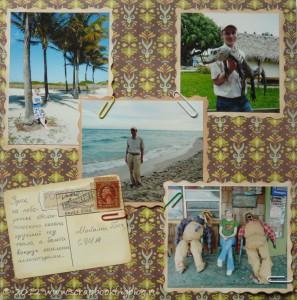 Альбом о путешествиях - страница про Майами
