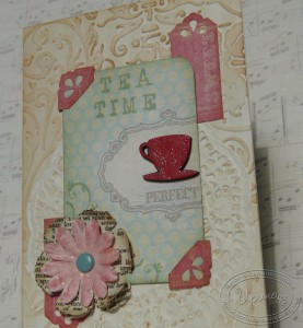 Открытка Tea Time - время пить чай