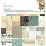 Бумага Basic Grey - коллекция Serenade