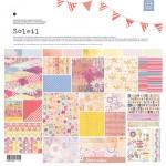 Бумага Basic Grey - коллекция Soleil