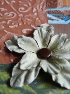 Цветок и эмбоссинг