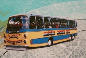 Арт-журнал, урок 7, автобус