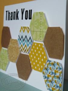Шестиугольники на открытке