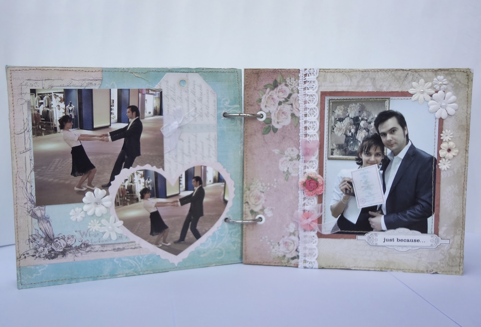 Как сделать свадебный фотоальбом своими руками фото 856