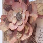 Коробка для салфеток - бумажный цветок