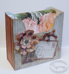 Коробка для салфеток - с салфетками