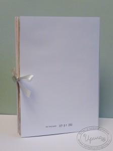 Арт-журнал, урок 9, обложка с обратной стороны