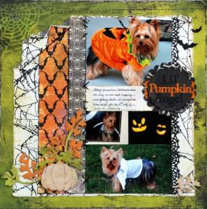 Скрапбукинг о Хеллоуине