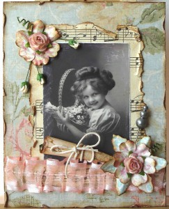 Винтажная открытка - автор Liana