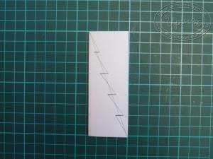 Как сделать шаблон ёлочки - шаг 4
