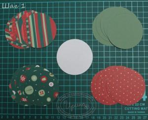Елочный шарик - шаг 1