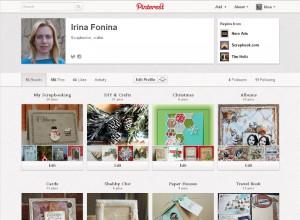 Pinterest - моя страничка