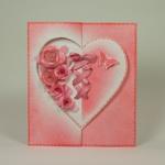 Серия открыток к Дню влюбленных 2013: 3D-открытка