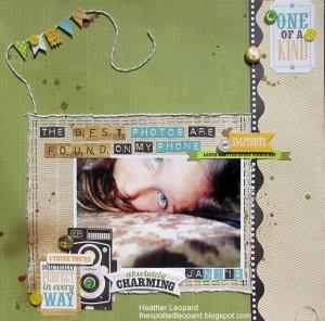 Страница из бумаги Echo Park, новая коллекция Charming