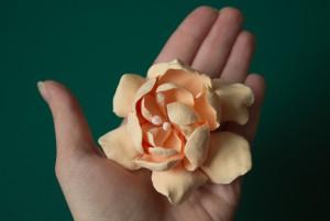 Формула рукоделия - весна 2013 - цветок из полимерной глины