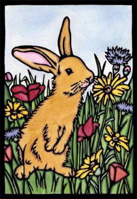 Рисунок зайчика, Sarah Angst