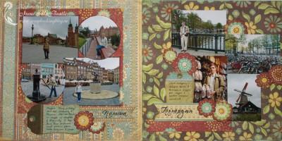 Альбом о путешествиях: Польша и Голландия