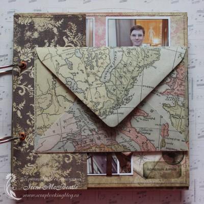 Конверт для открыток