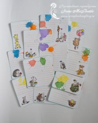Карточки для пожеланий малышу на первый день рождения