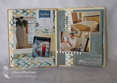 Альбом про Кипр: страницы про отель