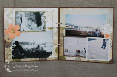 Альбом в экостиле - страницы с фото на набережной