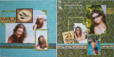 Большой фотоальбом: фотосессия девушки