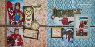 Большой фотоальбом: спорт и зима
