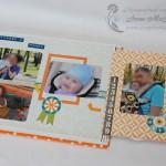 Детский фотоальбом: секретик с анкером