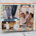 Детский фотоальбом: первые шаги
