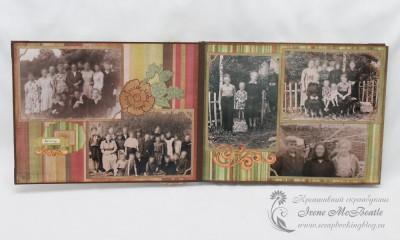 Фотоальбом для бабушки - детство