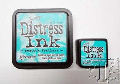 Тим Хольц - сравнение подушечек Distress Ink Pads