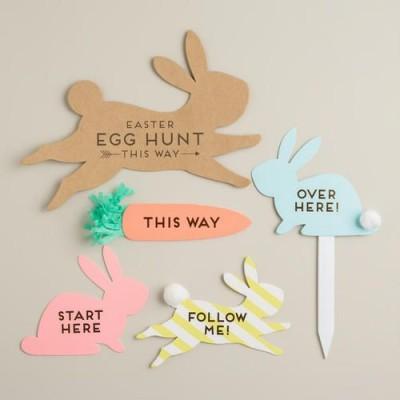 Охота за пасхальными яйцами