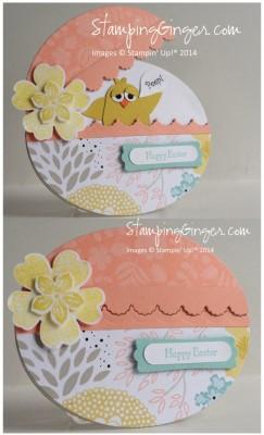 Оригинальная открытка-яйцо