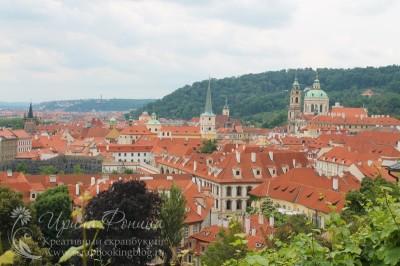 Поездка в Чехию: крыши Праги