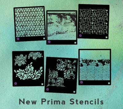 Новые трафареты Prima