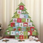 Адвент календарь в форме елки