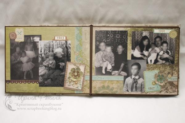 Семейный альбом - черно-белые фотографии