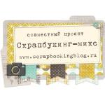 """Совместный проект """"Скрапбукинг-микс"""""""