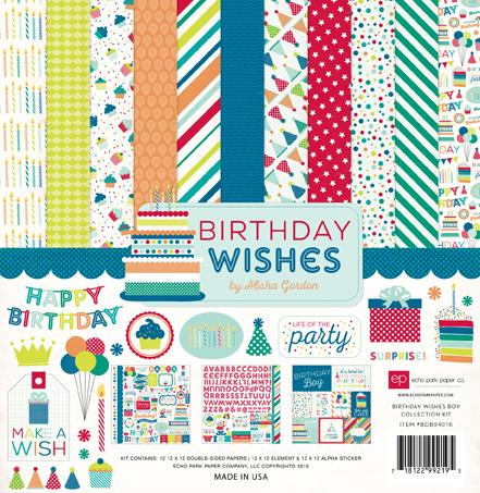 Echo Park Birthday Wishes Boy