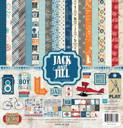 Echo Park Jack & Jill Boy