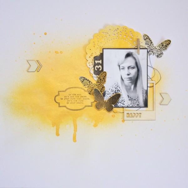 Ирина Фонина - конкурс Скрапбукер года 2015 - задание 2